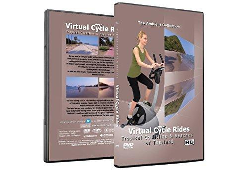 Virtuelle Fahrradtouren DVD - Tropische Küsten und Strände von Thailand - für Indoor Radfahren, Laufband und Jogging Workouts