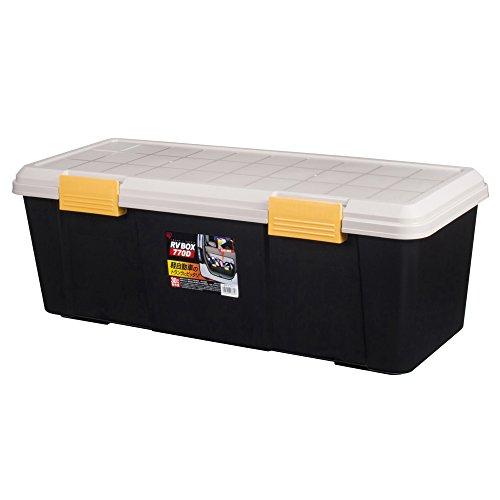 アイリスオーヤマ ボックス RVBOX 770D カーキ/ブラック 幅77×奥行32×高さ28cm