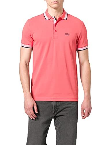 BOSS Paddy Camiseta Polo, Rojo Claro (Open Red 646), 3XL para Hombre