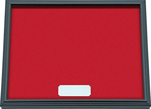 IMEX EL ZORRO El Zorro 54039-Expositor navajas, con Cristal, 32 x 25 cm, Rojo, 3.5x32x25 cm