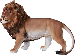 Pacific Giftware Majestic Wild African Lion Prideful King of The Jungle Savannah Lion Wildlife10 Inch Collectible Wild Cat Animal Decoration Figurine Sculpture