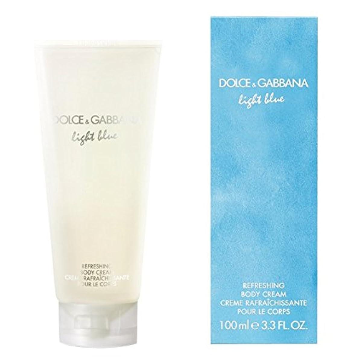 告白スロベニア世界の窓ドルチェ&ガッバーナライトブルーの爽やかなボディクリーム200ミリリットル (Dolce & Gabbana) - Dolce & Gabbana Light Blue Refreshing Body Cream 200ml [並行輸入品]