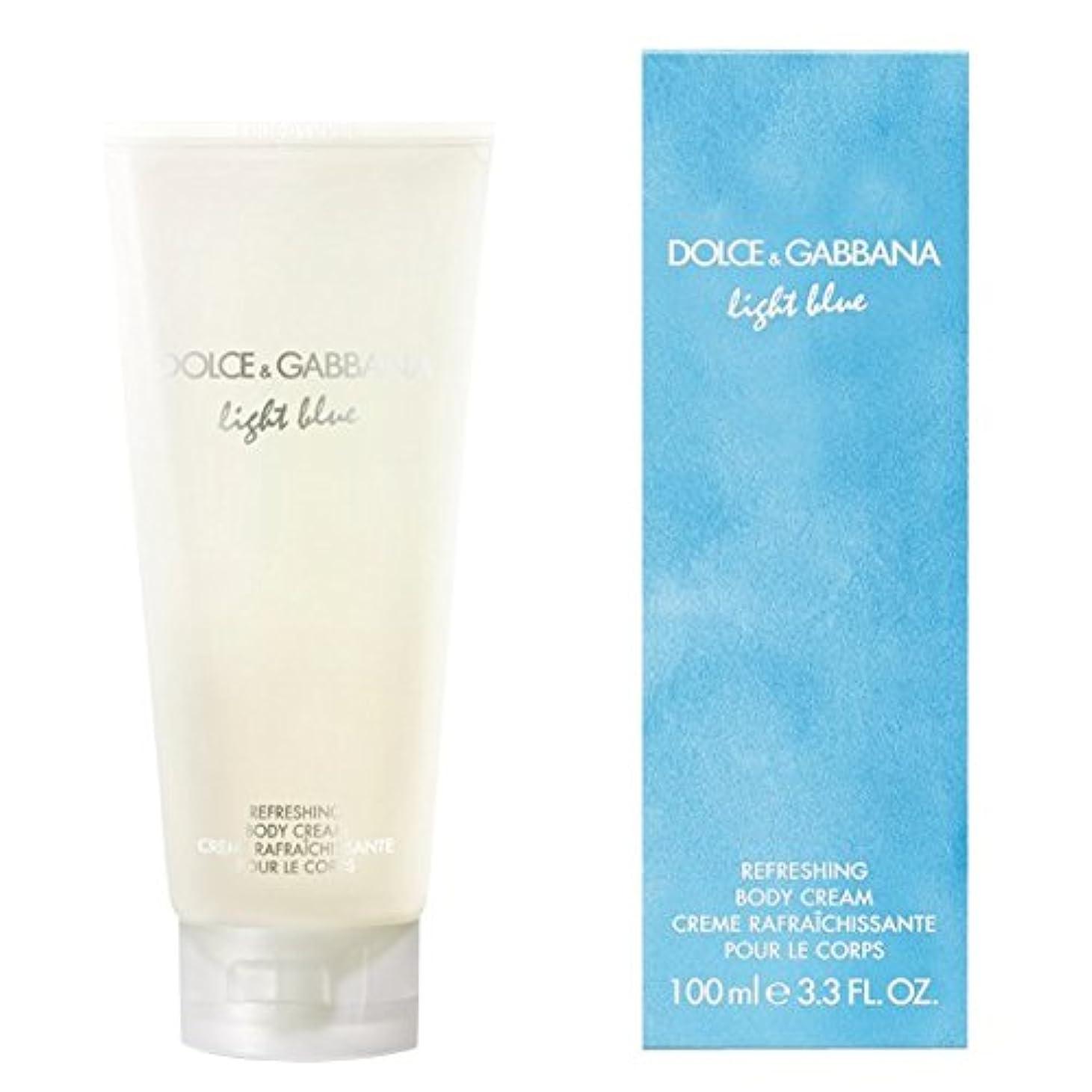 できない政治家病気だと思うドルチェ&ガッバーナライトブルーの爽やかなボディクリーム200ミリリットル (Dolce & Gabbana) (x6) - Dolce & Gabbana Light Blue Refreshing Body Cream 200ml (Pack of 6) [並行輸入品]