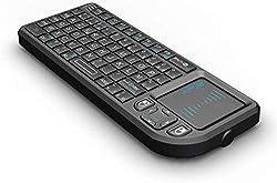2.4GHz Technologie sans fil , clavier de poche. Contrôle de votre PC à distance. Grande PAD pour écrire à la main. Piles au lithium-ion rechargeable. Supporte Window7/Vista/XP/2000,Linux (Debian-3.1, Redhat-9.0, Ubuntu-8.10, Fedora-7.0 tested ou au-d...