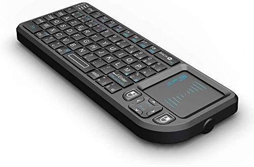 Rii Mini Clavier K01X1 sans FilAZERTY 24 Ghz avec Touchpad pour PC Pad Xbox 360 PS3 TV Box Google Android HTPC IPTV