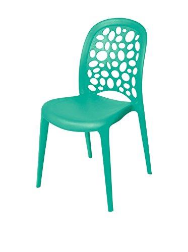 TrendyItalia Set 2 sedie Clio Verde Salvia
