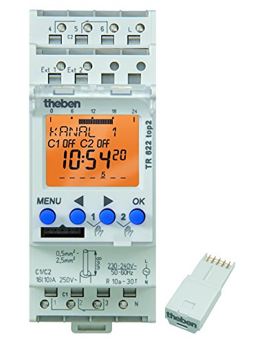 Theben TR 622 TOP2 Digital-Schaltuhr