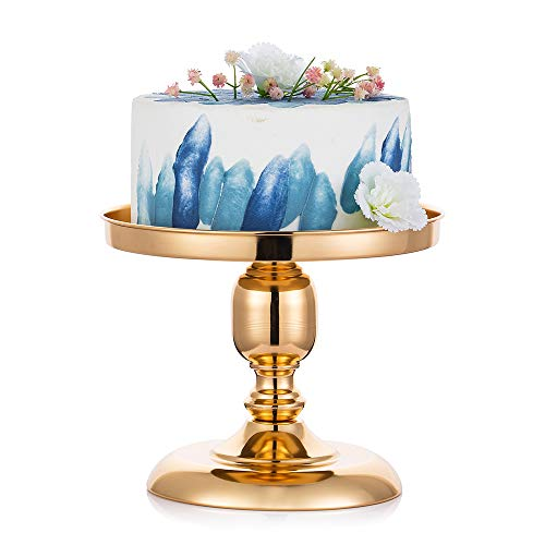 25cm Metall Spiegel Hochzeitstorte Stand, Hochzeit Geburtstag Party Dessert Cupcake Sockel/Display/Platte