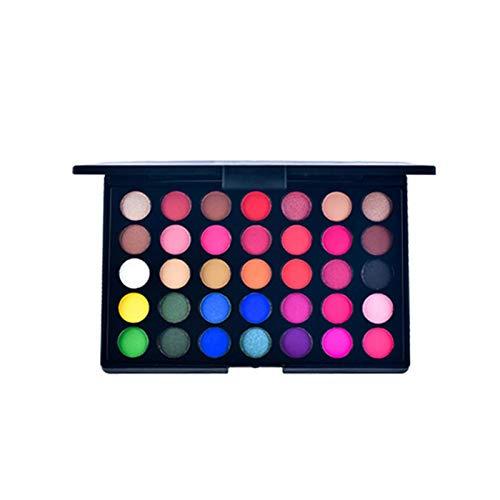 6PCS Lidschatten, Lidschatten-Palette Lidschatten-Set, Perlglanz-Glitzer-Palette Mehrfarbiges...