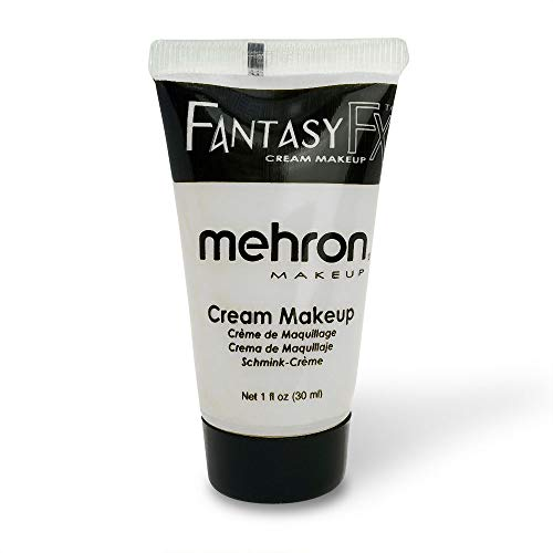 Mehron Makeup Fantasy F/X Water Based Face & Body Paint (1 oz) (White)
