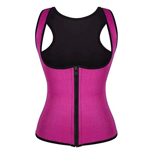 Weste Korsett Fitness Body Shaper Frauen Taille Trainer Workout Abnehmen Formende Tops Bauch Trainer Gürtel für Weight Loss Gym Workout Fettverbrenner Fitnessgürtel