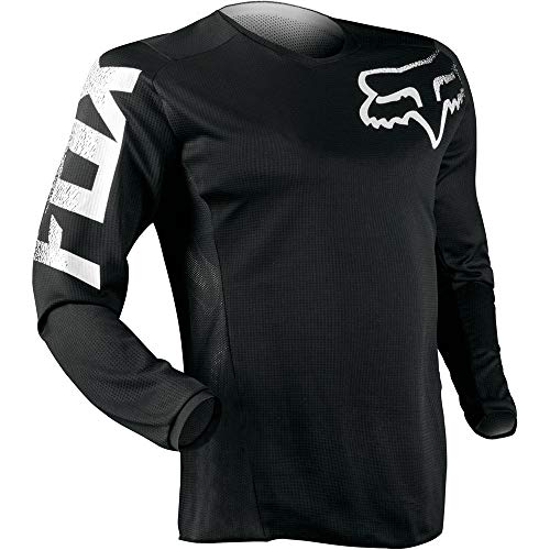 FOX Jersey Blackout Schwarz Gr. S