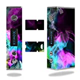 Decal Sticker Skin WRAP Colorful Color Smoke Blue Teal Pink White Green Yellow for Sigelei Mini 30W