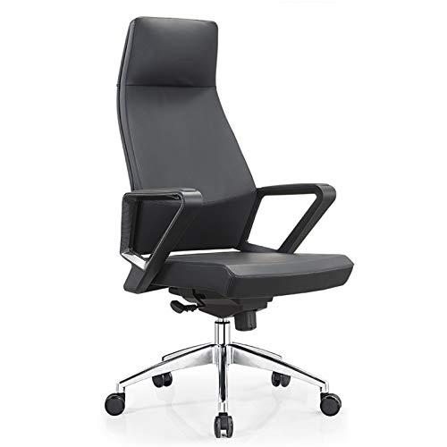 HMBB Bürostühle, Multifunktionale, Boss Stuhl, Drehstuhl, hochwertiger Business-Stuhl, Home Office, Bürostuhl, ergonomisches Design Aufzug Stuhl, Drehen 360 Grade (Größe: 120x50x70cm)