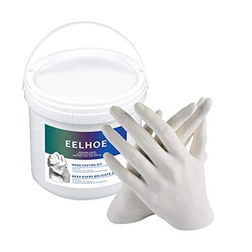 CLFYOU Hand Modellierung Kit Hand Abformset DIY Statue Modeling Kit Souvenir Abformset 3D Statue Modellierung Kit