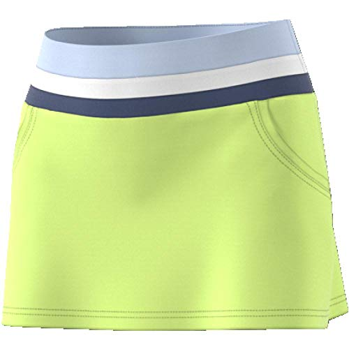 Adidas Club Skirt gonna da Tennis, Donna, Donna, CE1486, giallo (seamhe), XL