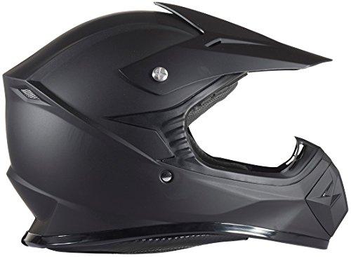 Youth Typhoon Kids Offroad Helmet DOT Motocross ATV Dirt Bike MX Motorcycle Matte Black S Small