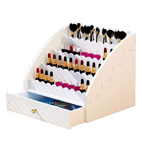 Boîte de rangement cosmétique Boîte De Rangement De Rouge À Lèvres De Bureau Support De Rangement pour Brosse À Maquillage De Type Tiroir Boîte De Finition Rouge À Lèvres