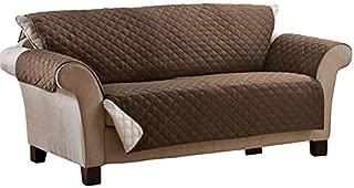 furein Funda cubre sillón, reversible, protector, cubre sillón orejero, sofá tamaño 2 plazas, butaca, protege sillón relax, lavable