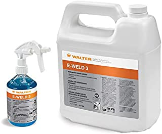 Walter 53F258 E-Weld 3 Weld Spatter Release Solution (208 L) - High Temperature, Water Based Anti Spatter Liquid. Cleaning Solutions
