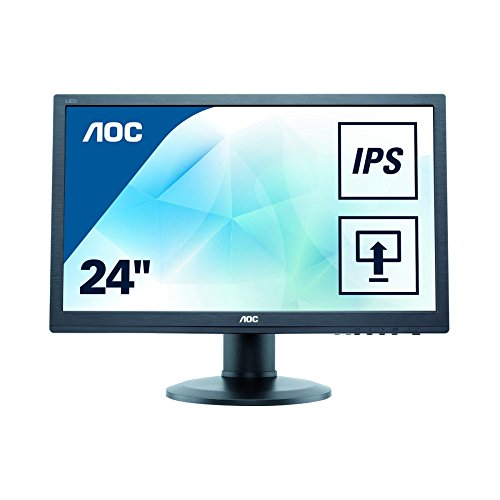 AOC I960PRDA VGA + DVI + HDMI + DP 24 Zoll zwart