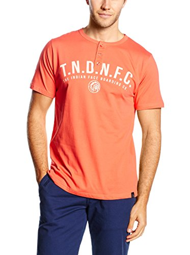 The indian face 01-096-01 T-Shirt, Rouge, L Homme