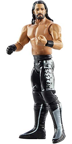 WWE Jordan Miles Basic Series #112 Action Figure in 6-inch Scale with Articulation & Ring Gear
