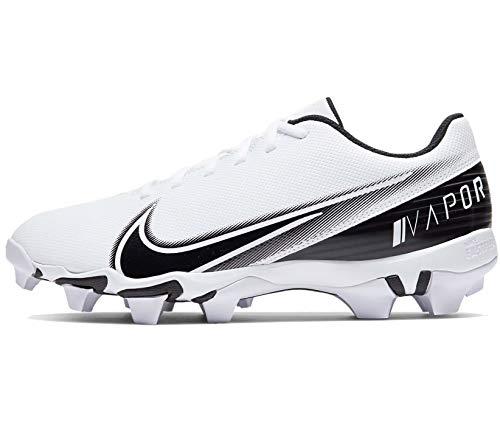 Nike Vapor Edge Shark Mens Football Cleat Cd0074-100 Size 11.5 White/Black