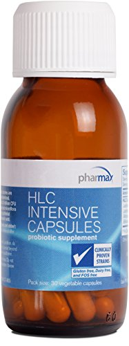 Pharmax - HLC Intensive Capsules - Probiotics to Promote Optimal Intestinal Health in Children and Adults - 30 Capsules
