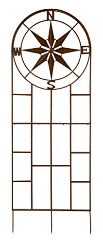 Deer Park Ironworks TR210 Compass Trellis with 10