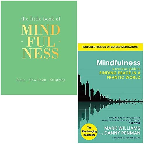 The Little Book of Mindfulness Hardcover by Tiddy Rowan Mindfulness A Practical Guide to Finding product image