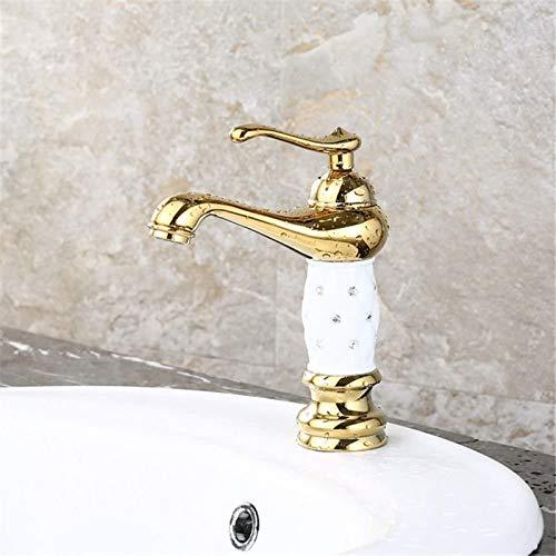 PFTHDE Grifo del Lavabo del Lavabo Grifo de la Barra del baño Grifo del Lavabo del Lavabo del baño de una Sola Palanca Antiguo