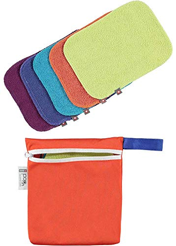 Close Parent 25806 Toallitas Lavables Pack, Colores Vivos