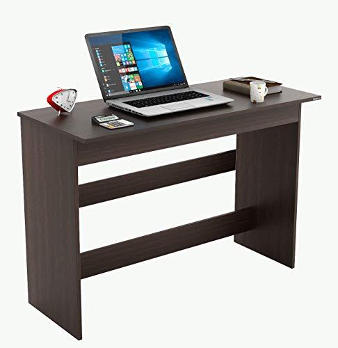 BLUEWUD Clonard Engineered Wood Office Desk; Study Desk(Wenge)