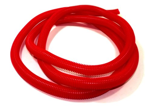 Taylor Cable 38800 Red Convoluted Tubing