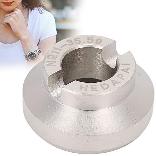 Abridor de Reloj, abridor de Caja de Reloj Cambio de Pilas de Reloj y Ajuste de reparación de relojero Utilice Pulseras para Apertura y Cierre de Reloj Rolex(35.5mm)