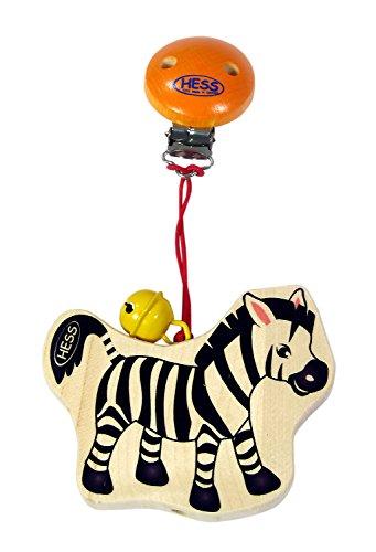 Hess Jouet en bois 12805 Chariot pendantes Zebra en Bois