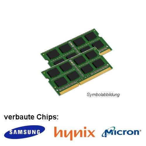 4GB Dual Channel Kit (2x 2GB) für Lenovo ThinkPad T61 DDR2 (PC2 5300S) SO Dimm Arbeitsspeicher