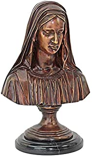 Design Toscano Madonna, the Blessed Mother Quality Lost Wax Bronze Statue