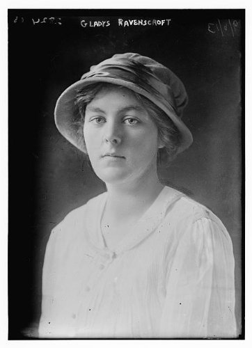 HistoricalFindings Photo: Gladys Ravenscroft,1888-1960,British Amatuer Golfer,Golf,Woman