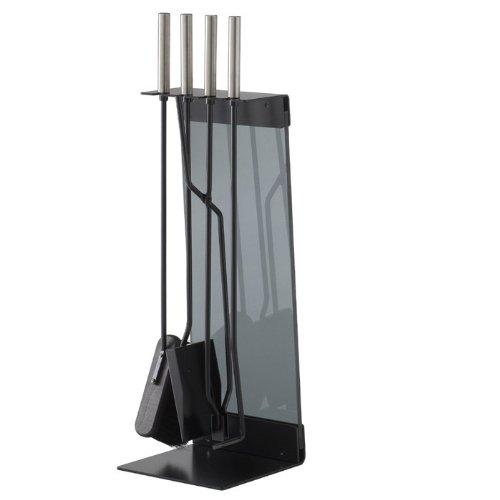 Conmoto Teras Kaminbesteck 5-teilig Stahl schwarz