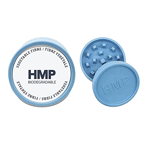 HMP Canada – Travel Collection, Two Piece Bio Grinder 2.2'' (5 Color Options) – Metal Free,100% Biodegradable, Made with…