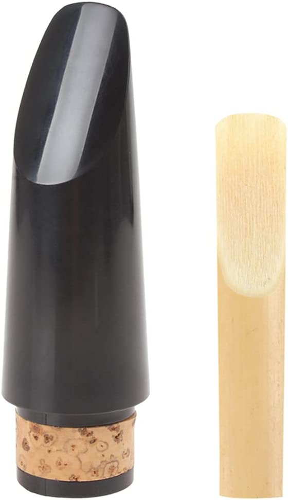 WGOEODI with Reed Professional Very popular Mouthpiece Clarinet Large discharge sale Black