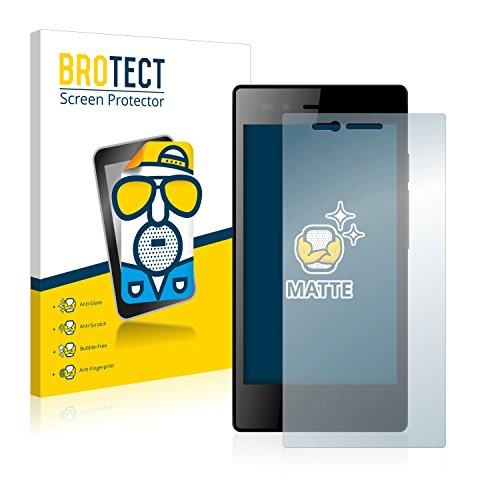BROTECT 2X Entspiegelungs-Schutzfolie kompatibel mit Siswoo A5 Chocolate Bildschirmschutz-Folie Matt, Anti-Reflex, Anti-Fingerprint