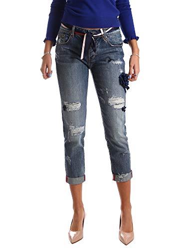 Fracomina FR19FPJCARA5 Jeans Frauen Blau 30