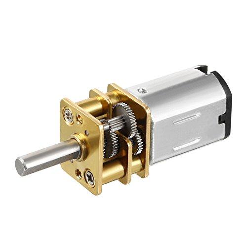 sourcing map Mikro Getriebe Drehzahlreduzierung Motor 0,18A DC 6V 30 RPM