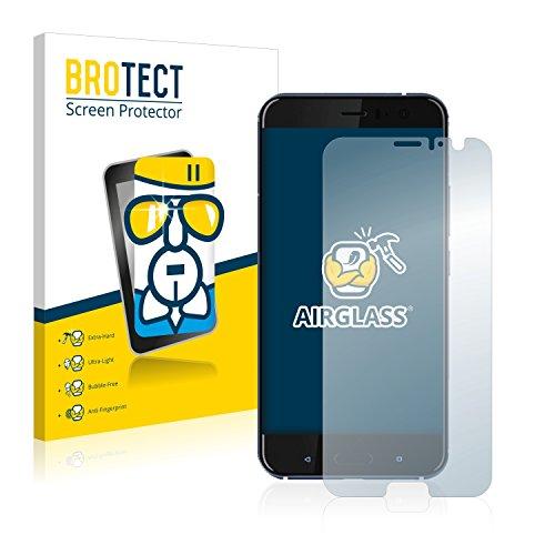 BROTECT Panzerglas Schutzfolie kompatibel mit HTC U11 - AirGlass, extrem Kratzfest, Anti-Fingerprint, Ultra-transparent