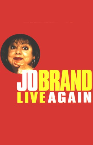 Jo Brand Live Again audiobook cover art