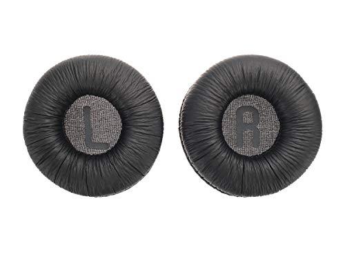 Vervangende oorkussens voor JBL T450, T450BT, T500BT, Tune 600BTNC koptelefoon, Kleur: zwart.
