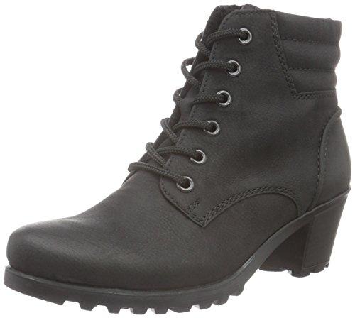 Rieker Damen Y8023 Kurzschaft Stiefel, Schwarz (schwarz / 01), 39